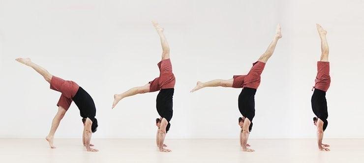 Handstand lernen